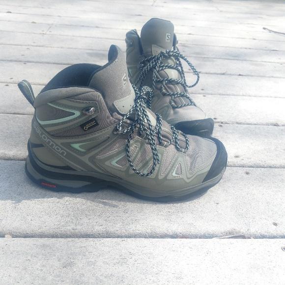 sports shoes 97ed2 83e98 Salomon X ultra 3 Mid GTX Wide